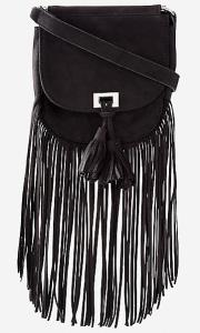 This fringe cross body bag is $29.90 at Express. There's also a really cute option at Forever 21 for $27.90